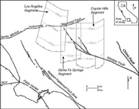 Active Faults of the Los Angeles Basin
